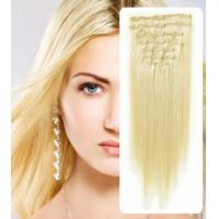 Buy cheap Natural 100% Virgin Clip In Hair Extension Silky Straight Human Hair from wholesalers