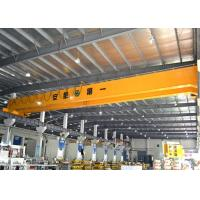Buy cheap Double Girder Bridge Crane With Electric Hoist Trolley , LH Workstation Bridge Crane from wholesalers