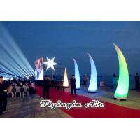 Buy cheap 4m Inflatable Light Cone with Plastic Blower for  Big Event and Show product