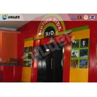 Buy cheap Special Effect Seats Theater 5D Ride Cinema Equipment With Simulator System product