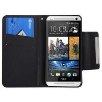 Buy cheap Stand leather cover for HTC one M7 protective case , HTC Cellphone cases from wholesalers