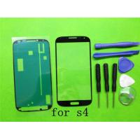 Buy cheap (S4) Samsung Galaxy S4 i9500 I9505 I337 LCD Glass Outer Lens( black white Blue )with logo from wholesalers