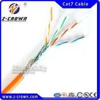 Buy cheap Newest UTP/ FTP/ STP/ SFTP Cat 7 Lan Cable product