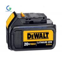 Buy cheap  18V/20V Li-ion Replacement Power Tool Battery  14.4V Li-ion Cordless Tool Battery Black Color from wholesalers