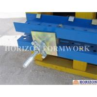 China Galvanized Formwork Tie Rod System With Dywidag Thread , Wing Nut and Steel Cones on sale