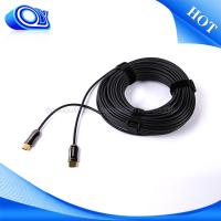Buy cheap Indoor Mini Mini HDMI Cable 60HZ , Military Fiber Optic Cable Softer / Lighter from wholesalers
