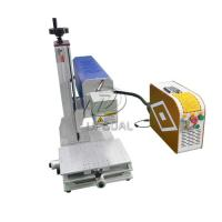 Buy cheap Mini Glasses Lens Marking Machine Co2 RF Laser Marking Machine 30W from wholesalers