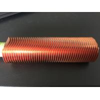 Buy cheap CuNi 90/10 Shape Type Heat Exchanger Fin Tube OD25.4 X 1.5WT L Finned Copper Tubing from wholesalers