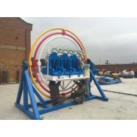 Buy cheap Adults 360 Degree Human Gyroscope Ride 6 Seats With Led And Music Function product