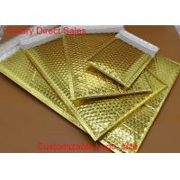 Buy cheap Custom  Metallic Bubble Wrap Envelopes Rainbow With Light Bubble Linings from wholesalers