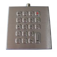 Buy cheap Weatherproof 19 Keys Access Control Keypad , Customizable Industrial Keypad from wholesalers