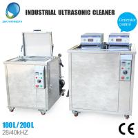 Buy cheap Stainless Steel Industrial Ultrasonic Cleaning Equipment With 500 Liter Capacity from wholesalers