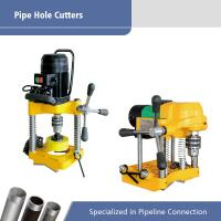 Buy cheap Hongli JK114 JK150  Pipe Hole Cutting Machine To 114mm/152mm Into Steel Pipe from wholesalers