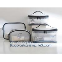 Buy cheap Storage Bag Portable Mesh Cosmetic Bag with Zipper,Unisex Travel Wash Bag Travel Cosmetic Storage Bag 2 pcs, bagease pac from wholesalers