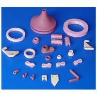 Buy cheap White / Red Industrial 95% / 99% / 99.7% Al2O3 / Alumina Textile Ceramic Component / Parts from wholesalers