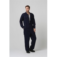 Buy cheap EN11612 Flame Resistant Clothing , 100% Cotton Flash Proof Overalls from wholesalers