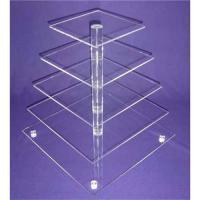 Buy cheap cakecup display acrylic from wholesalers
