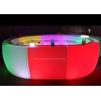 Buy cheap Multi Shaped LED Bar Counter , Indoor / Outdoor Illuminated Bar Counter from wholesalers
