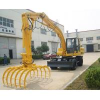 Buy cheap timber grab excavator from wholesalers