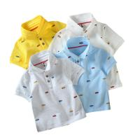 Buy cheap Different Colors 100%cotton small moq kids clothes boys polo shirt from wholesalers