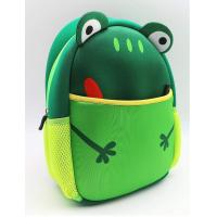Buy cheap High quality material waterproof soft colth neoprene RB kids backpack children school bag,frog lunch tote bag from wholesalers
