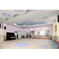 Buy cheap YUEPO- foaming base commercial pvc flooring with carton picture in school/ kindergarden from wholesalers