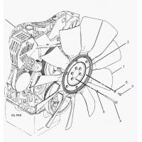 Buy cheap C7 Engine Fan Blade 230-2892 For Caterpillar 325d Excavator Spare Parts from wholesalers