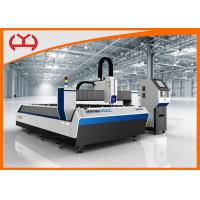 Buy cheap 500W IPG 6020 Table Fiber Laser Cutter For Metal Cutting 30 m / min Cutting Speed from wholesalers