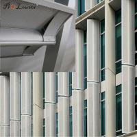 Buy cheap High quality assurance Aerowing sun louver for Architectural exterior facades product