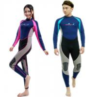 Buy cheap Cheap 2 mm Neoprene Anti-UV wetsuit for women and men high quality fashion design wholesale from wholesalers