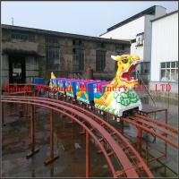 Buy cheap New design high quality cheapest Amusement Dragon Life Size Fiberglass Train Sliding Dragon from wholesalers