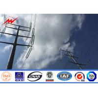 Buy cheap ASTM A572 Gr60 250daN 600daN Octagonal Steel Utility Pole 10kv - 550kv from wholesalers