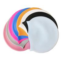 Buy cheap Cheap sports products Custom Silicone Swim Cap With Logo 100% water proof from wholesalers