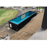 Buy cheap Topshaw Modern Design Customized Inground Sea Container Pools/Swimming Pool Container for sale from wholesalers