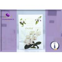 Buy cheap Fragrance 27g Orchid Scented Sachet Envelopes Car Sachets For Wardrobes from wholesalers