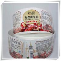 Buy cheap Hot Sale Cheap Logo Custom Printed Adhesive Label Sticker Printing with Good Quality. from wholesalers