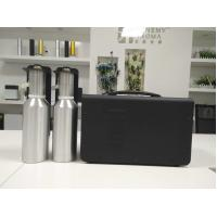 Buy cheap 10000m³ Coverage Double Machine HVAC Scent Diffuser Black Metal Housing product