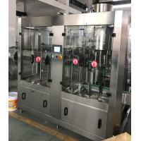 Buy cheap Labelong Liquid Bottling Machine Washer Rinser Capper 304 Stainless Steel from wholesalers