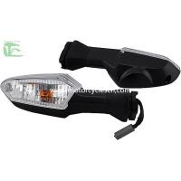 Buy cheap KAWASAKI ER-6N Front Winker Lamp LED Motorcycle Spare Parts Turn lights Transparent Red from wholesalers