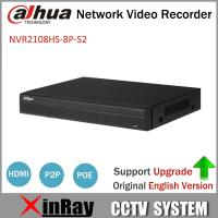Buy cheap Dahua POE NVR NVR2108HS-8P-S2 8CH Network Video Recorder Full HD 1080P Recorder With 1SATA 2USB Interface from wholesalers