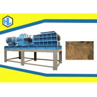 Buy cheap Pet Bottle / Wood Pallet Household Waste Shredder 30mm Knife Thickness from wholesalers