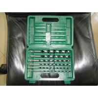 Buy cheap 6-pieces Wood Auger Drill Bits in plastic box from wholesalers