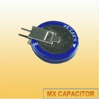 China Coin Cell Super Capacitor 5.5V 0.22F 0.33F,V type Gold Capacitor on sale