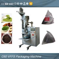 Buy cheap Auto Pyramid Bag Envelope Packing Machine For Organic Weight Loss Green Tea from wholesalers