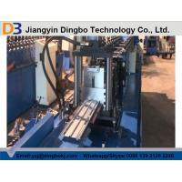 Buy cheap Curtain Fire Damper Frame Flange Metal Roll Forming Machines High Speed CE & ISO from wholesalers