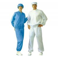 Buy cheap Chemical Industry Anti Static Products Esd Garments With Shirt And Workwear Trousers from wholesalers