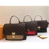 Buy cheap LV handbag with lock LV bag on sale red high quality replica wholesale cheap from wholesalers