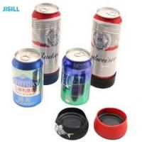 Buy cheap Silicone Band Fixation Plastic Ice Chill Puck Cooler Mini Cold Packs For Beer Can Cooling from wholesalers