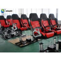 Buy cheap 4D Cinema Theater With Motion Cinema Chair / Home Theater Chair Customized Color product