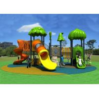 Buy cheap Kids Plastic Outdoor Playground Tube Slides, Kindergarten Outdoor Play Ground from wholesalers